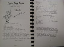 Blacksburg's Best, 1968, Advertisement and casserole recipes