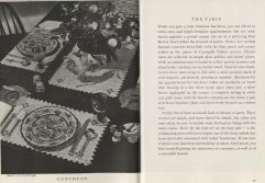 A few notes on setting the proper table...and NOT over-serving your guests.