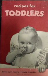 Recipes for Toddlers, 1956