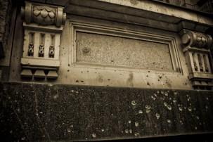 WWII Bullet holes - Battle for Berlin