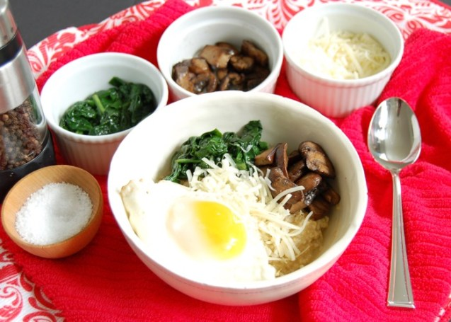 Savory Oatmeal Bowl