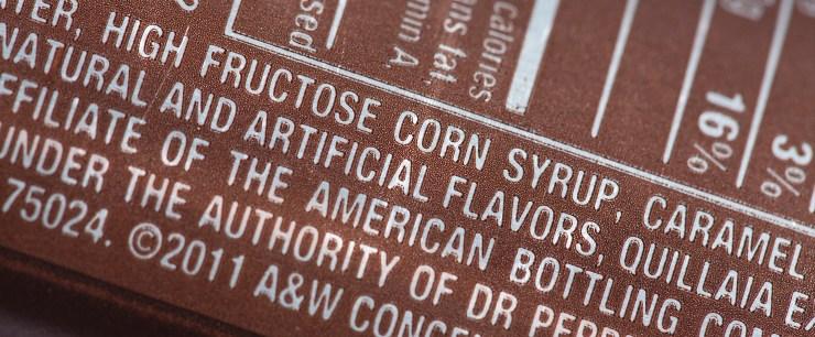 food additives ingredient list