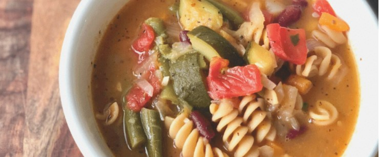 soups for winter: minestrone