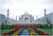 Taj Mahal at National Consumer Fair