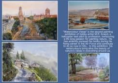 Watercolour Vistas - Exhibition of Watercolour paintings by M.R Anand at Chitrakala Parishath, Bengaluru (2)