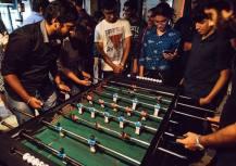 Foosball at Social 2