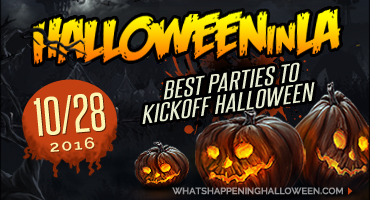 Best Halloween Parties 2016 October 28th