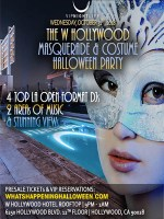 W Masquerade Rooftop Halloween Tickets