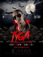 Tyga at Ohm Nightclub Halloween Night