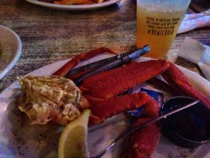 mmm crab legs!