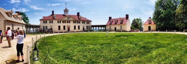 The Washington residence
