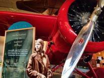 Amelia exhibit at the Air & Space museum