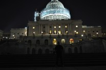 Dad at the Capitol building