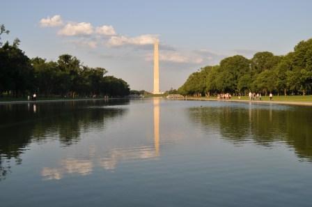 Washington Monument & Reflective pool