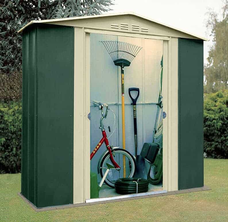 Lawn Mower Storage Shed
