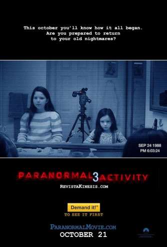 Film Review: Paranormal Activity 3 Cannot Be Called Horror