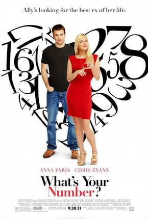 Film Review: What's Your Number? starring Anna Faris, Chris Evans