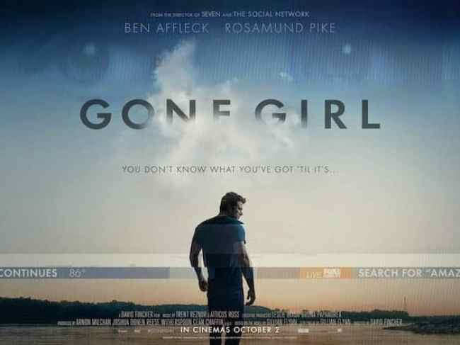 FILM REVIEW: GONE GIRL