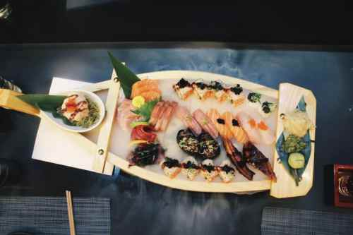 A LUXURY SUSHI EXPERIENCE AT PAN CHAI, HARRODS LONDON