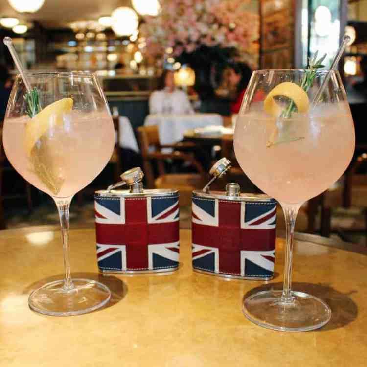 THE IVY KENSINGTON BRASSERIE X ASPINAL OF LONDON PROMS MENU REVIEW