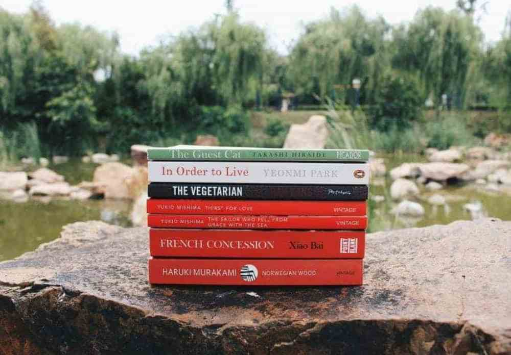 SUMMER BOOK HAUL: JAPANESE, KOREAN & CHINESE AUTHORS