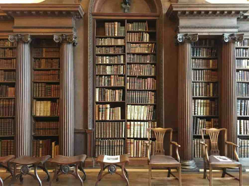10 Reasons to Apply to Christ Church, Oxford University - Library
