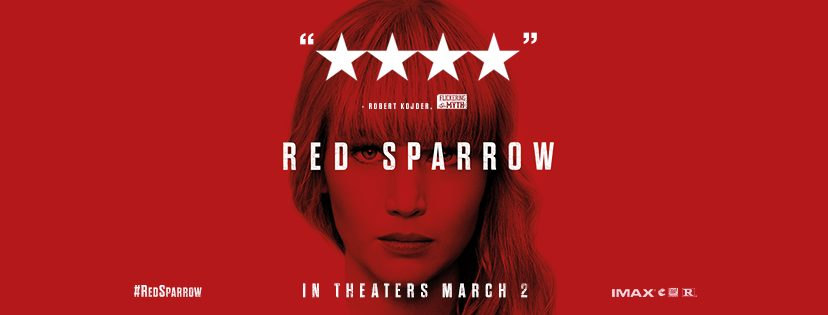 Preview Film Review: Red Sparrow starring Jennifer Lawrence