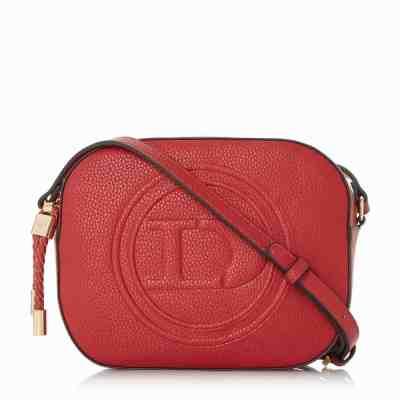 Dune Red Embossed Bag