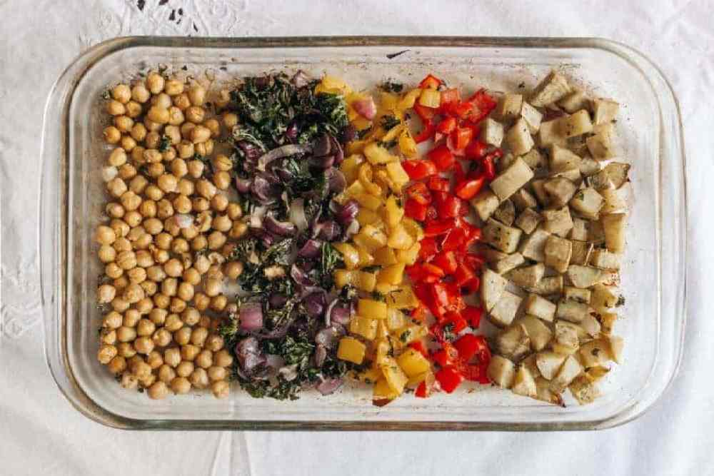 Easy Mediterranean Vegan Buddha Bowl with Violife Vegan Cheese
