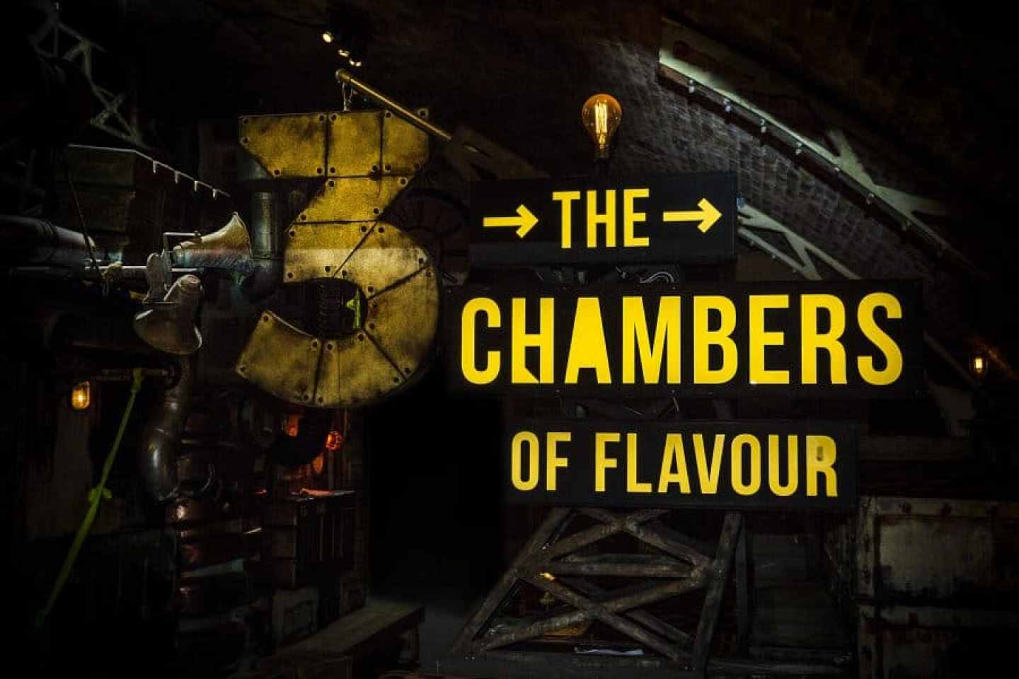 Immersive Dining in London: Chambers of Flavour by Gingerline