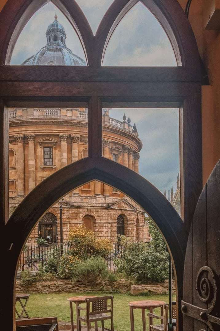 Where to Get the Best Views of the Radcliffe Camera in Oxford