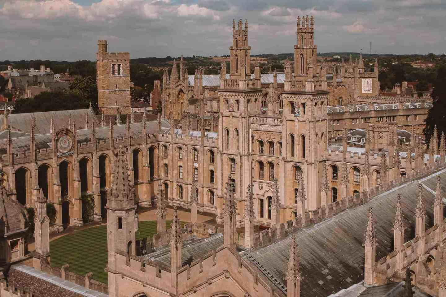 All Souls College - 10 Most Beautiful Colleges at Oxford University According to a Student