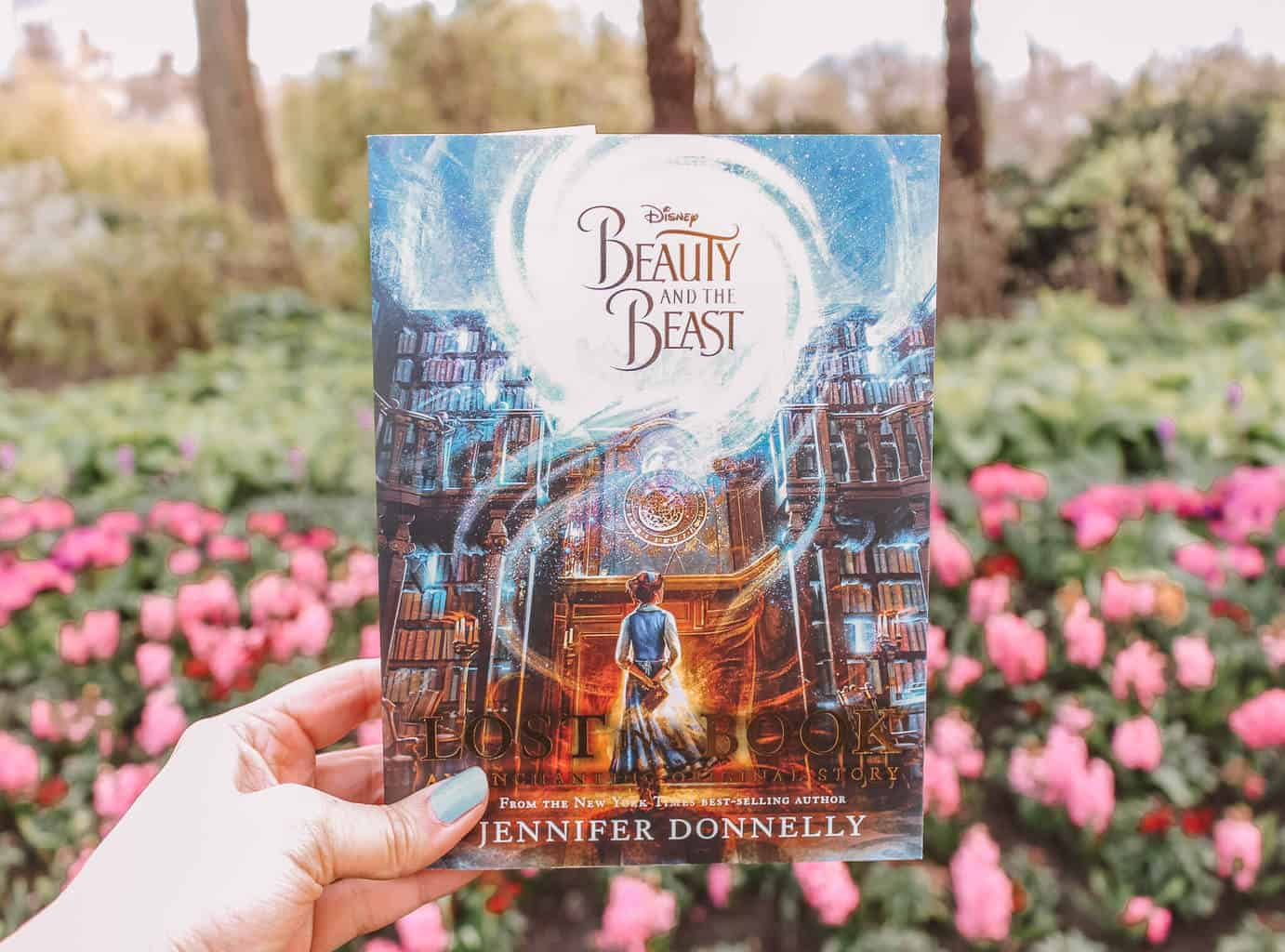 Book Review: Lost in a Book by Jennifer Donnelly. A Beauty in the Beast Retelling.