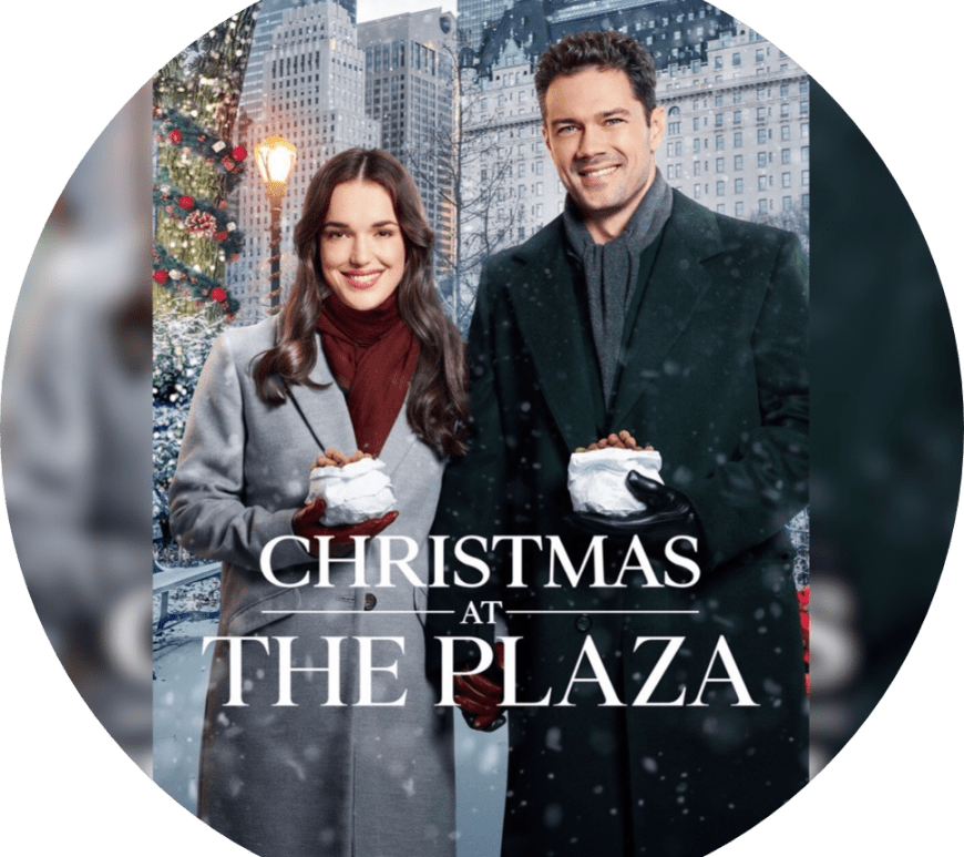 Elizabeth Henstridge, Christmas at the Plaza, Ryan Paevey