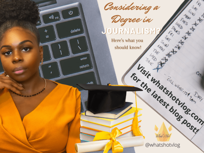 stacey coles, Stacey cake, journalism, Should I get a journalism degree?