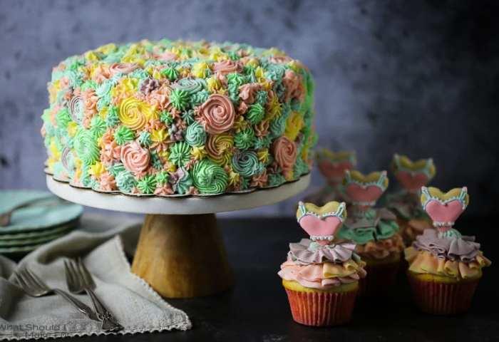 Pastel Party Cake