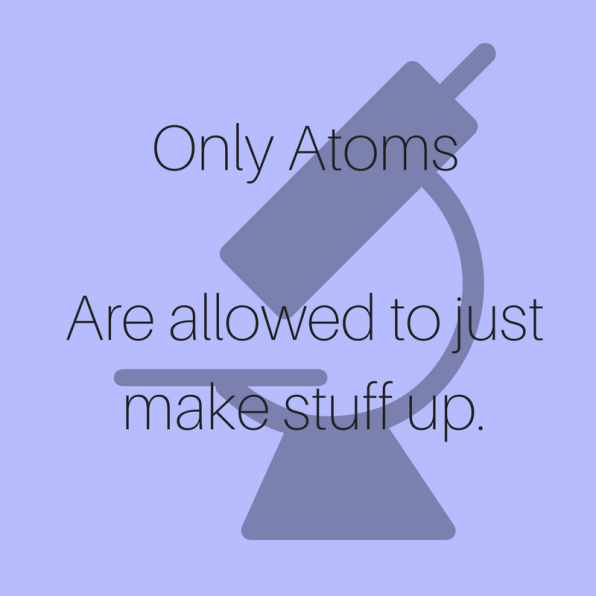 Only Atoms