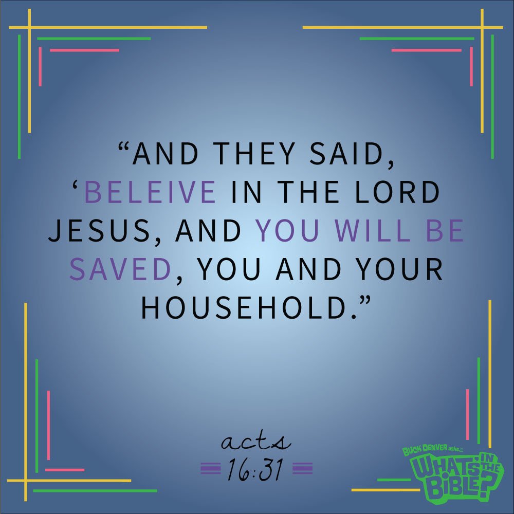 Acts 1631 Verse Of The Day 72514 Whats In The Bible
