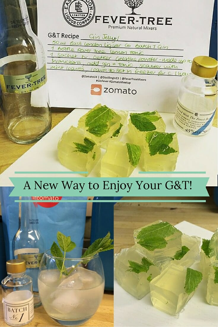 Gin Jellies - a new way to enjoy your G&T!
