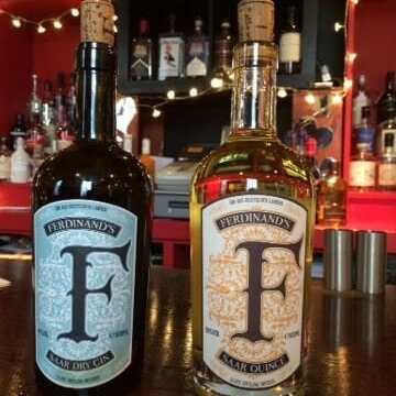 Tasting Ferdinand's Quince Gin