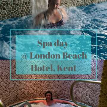 Spa day @London beach hotel