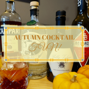 Autumn cocktail fun!