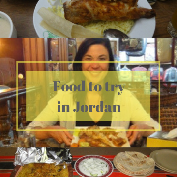 Food to try in Jordan