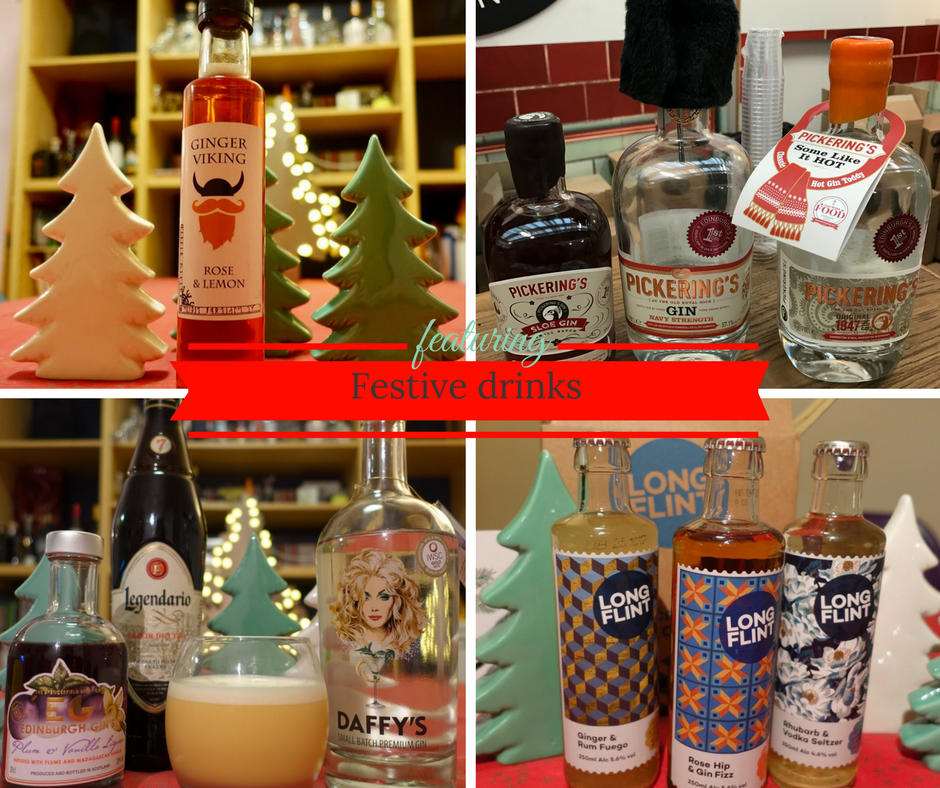 Festive drinks on What's Katie Doing? blog