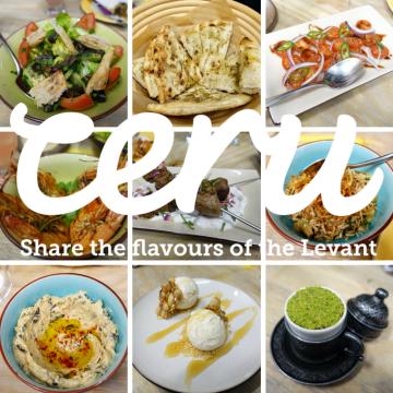 A taste of the Levant @ Ceru
