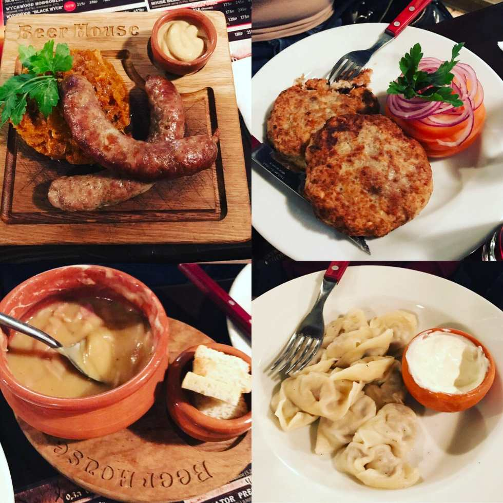What Katie ate in Russia on What's Katie Doing? blog