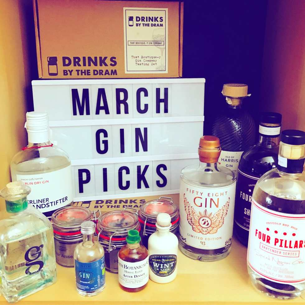 March 17 gin picks on What's Katie Doing? blog