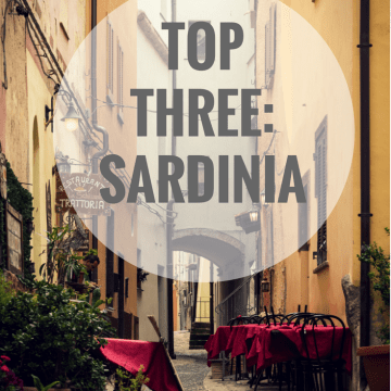 Top Three in Sardinia