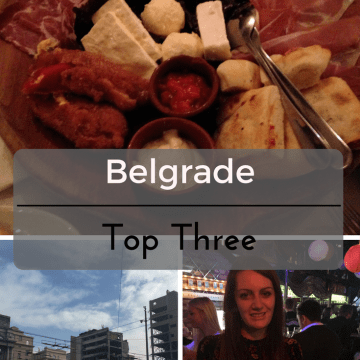 Top Three in Belgrade