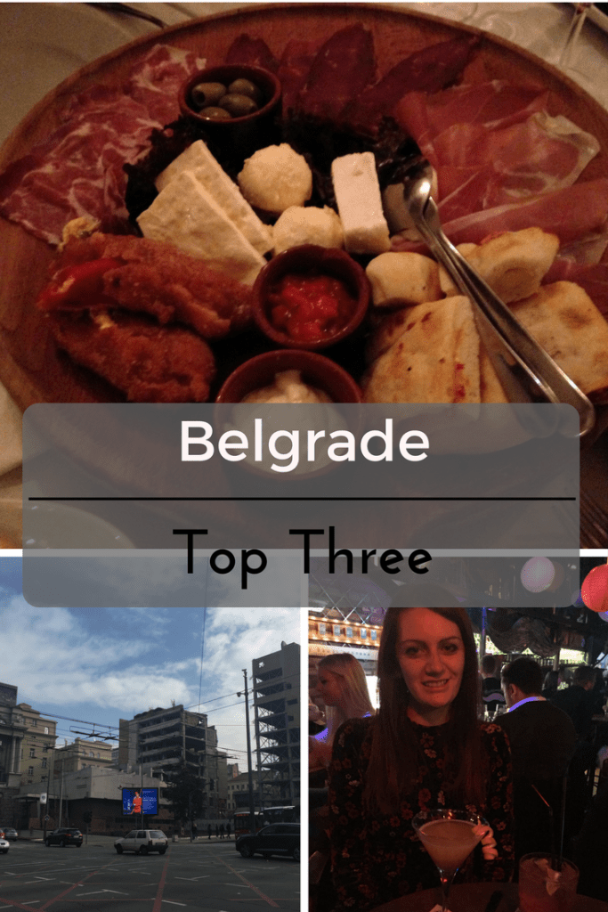 Top Three in Belgrade, Serbia on What's Katie Doing? blog